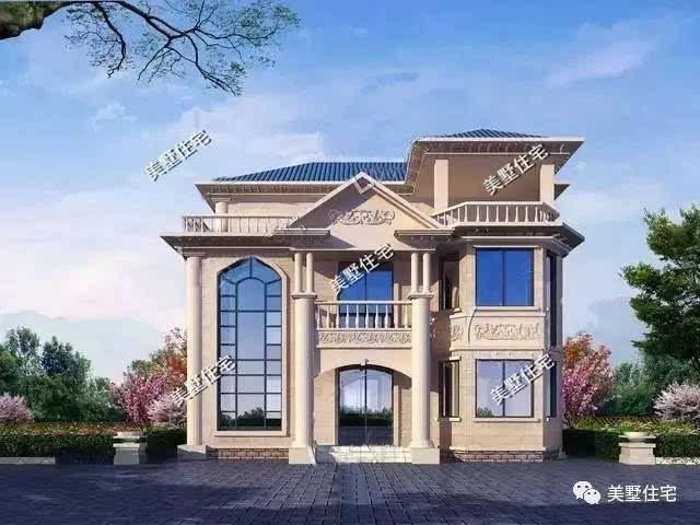 别墅圆屋顶设计