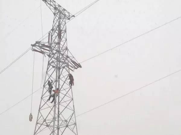 如何判断电力铁塔的电压?