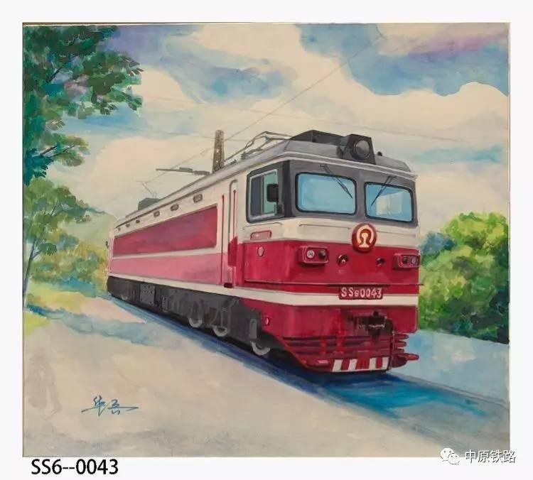【新媒体作品】手绘火车头图集:老司机都认不全,你见过几种?