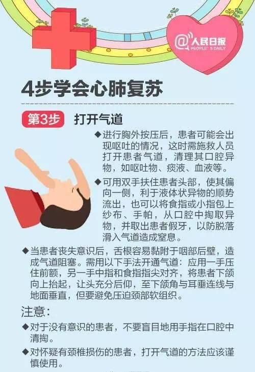 世界红十字日 学会心肺复苏术