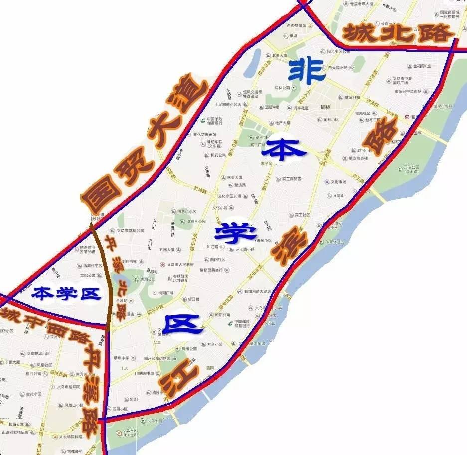 2017孟州市城区初中划