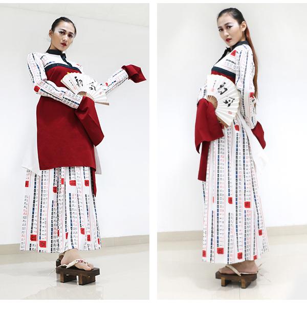 杭州圣玛丁服装设计学校学员黄静创意设计作品