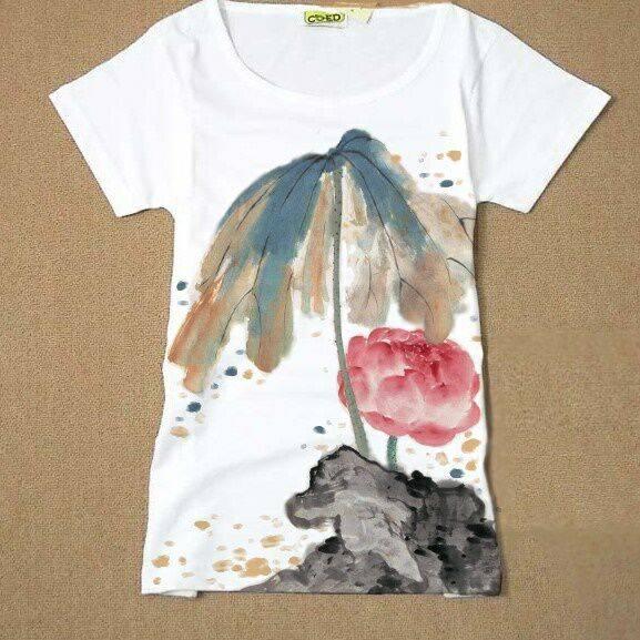 创意手绘t恤图片