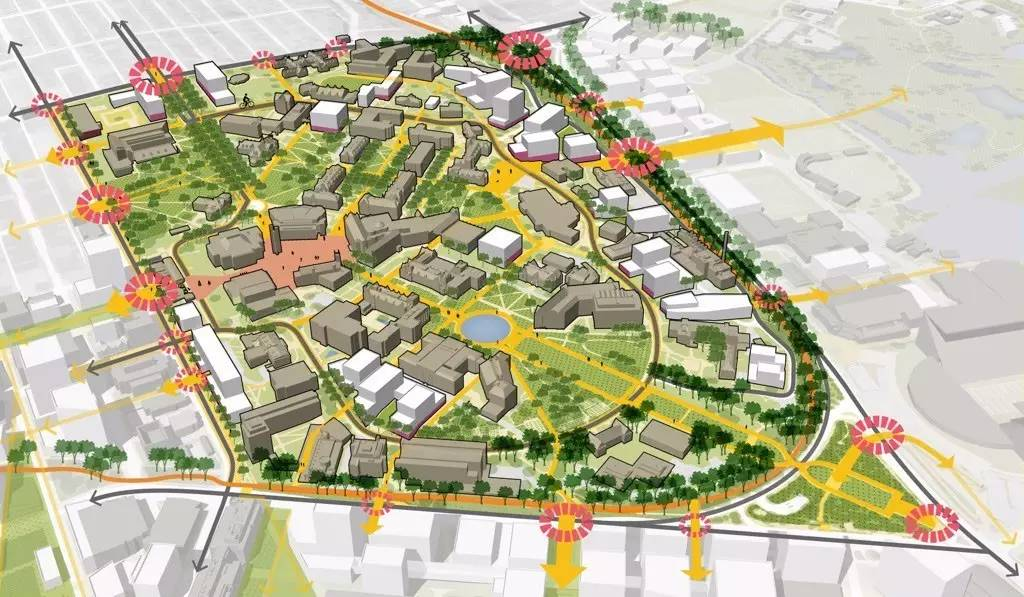 sasaki | 华盛顿大学校园总体规划与创新区发展框架图片