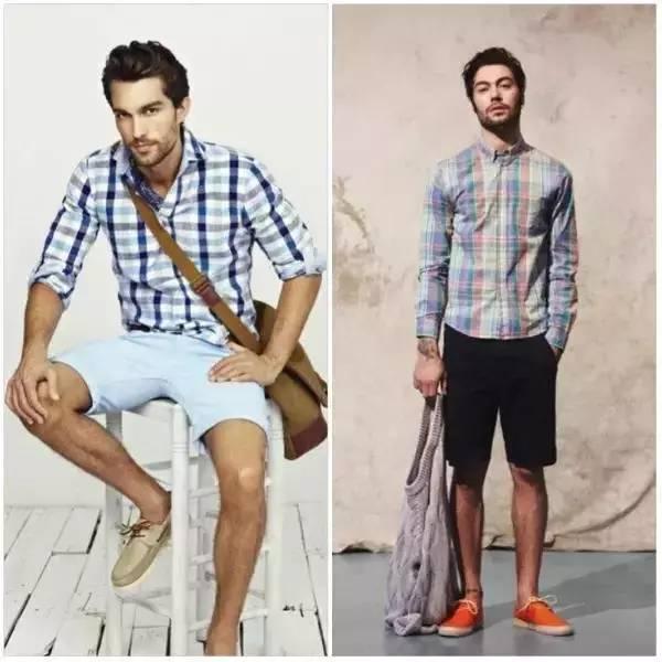 夏季男生穿衣搭配技巧