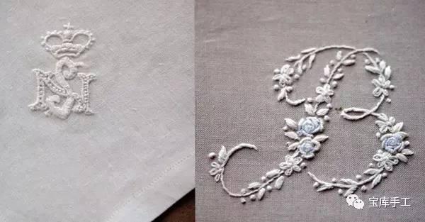 刺绣手绘图 古代