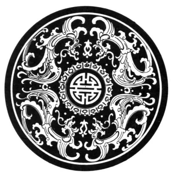 佛教纹样矢量图
