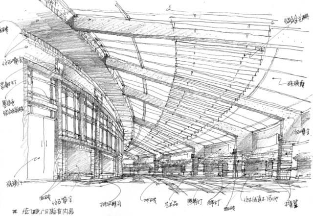资深设计师建筑手绘稿|收藏学习