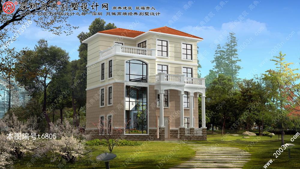 四层别墅设计图纸首层120平方米