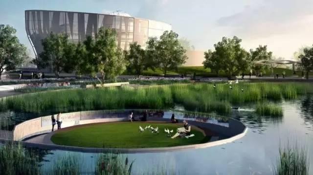 西安城市生態公園圖片