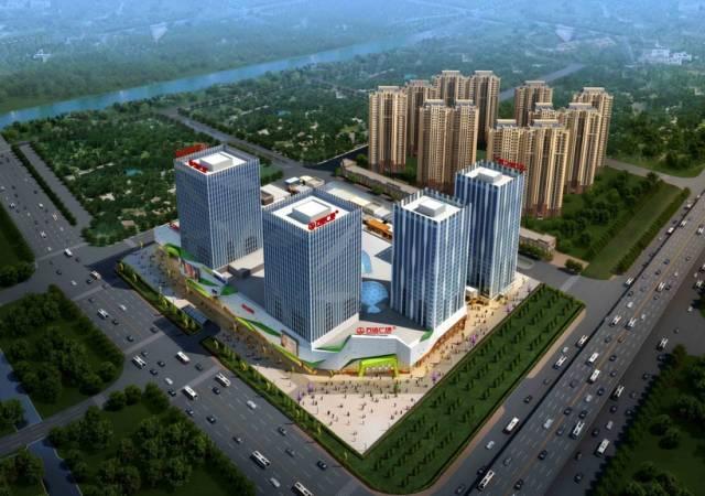 随着世茂广场,越秀城市广场,永旺梦乐城等入驻,愈发发展壮大.