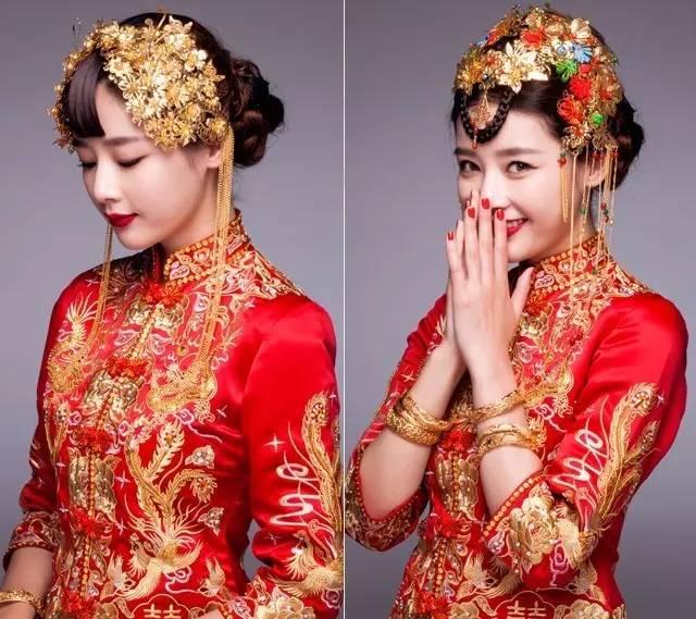 跟妆师送上多款新娘发型,从出门,迎宾,仪式,敬酒等新娘造型都很美!