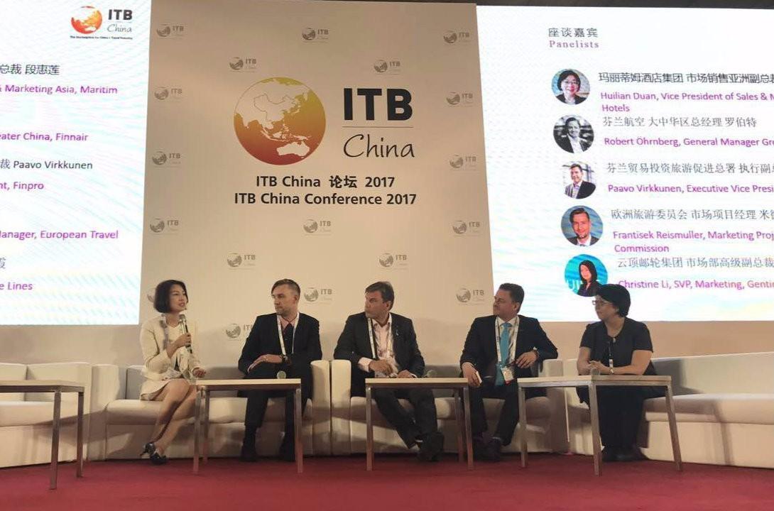 云顶邮轮集团亮相2017上海国际旅游交易博览会