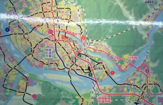 马尾地铁已纳入滨海新城轨道线 最快或明年动建