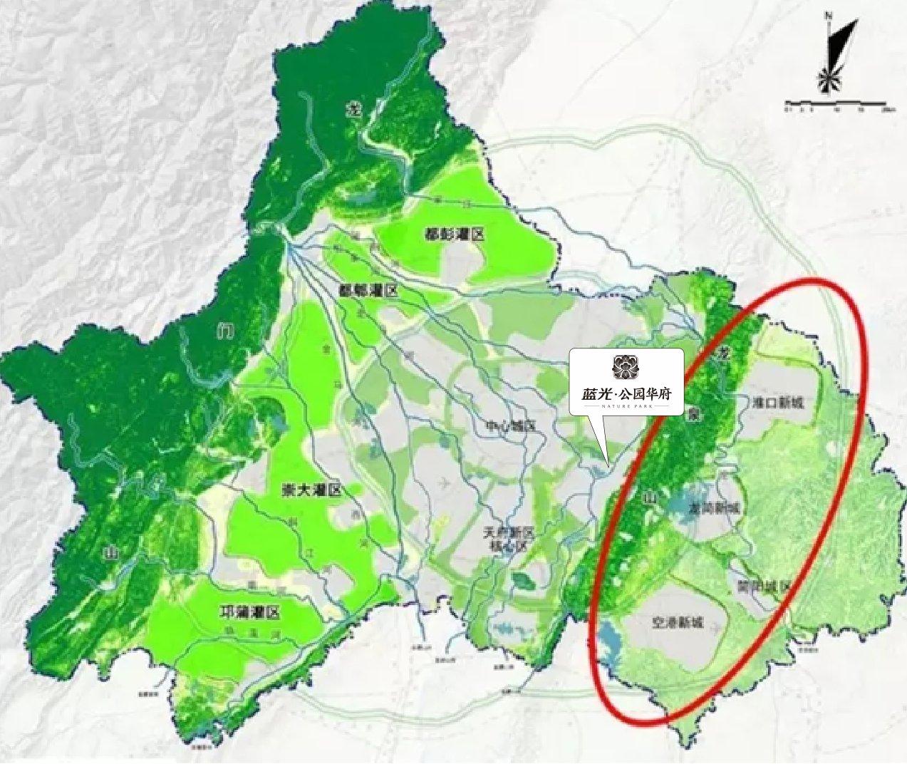 同年,龙泉山城市森林公园开工,建设面积超过1000平方公里. 1.图片