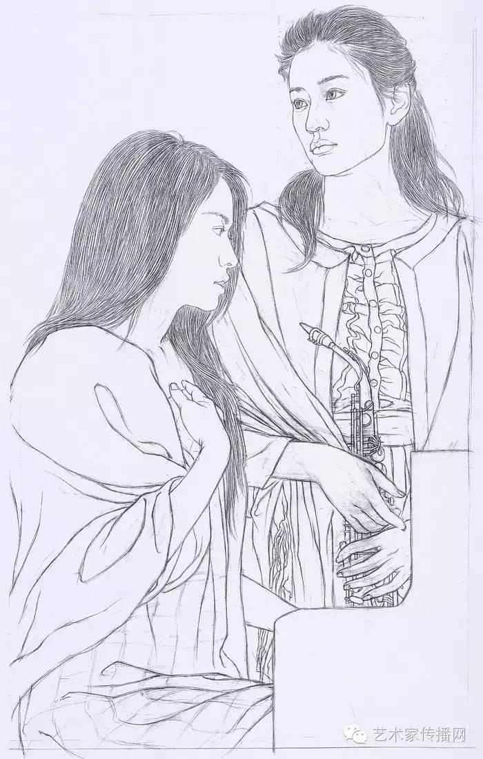 古代诗人怎么画简笔画