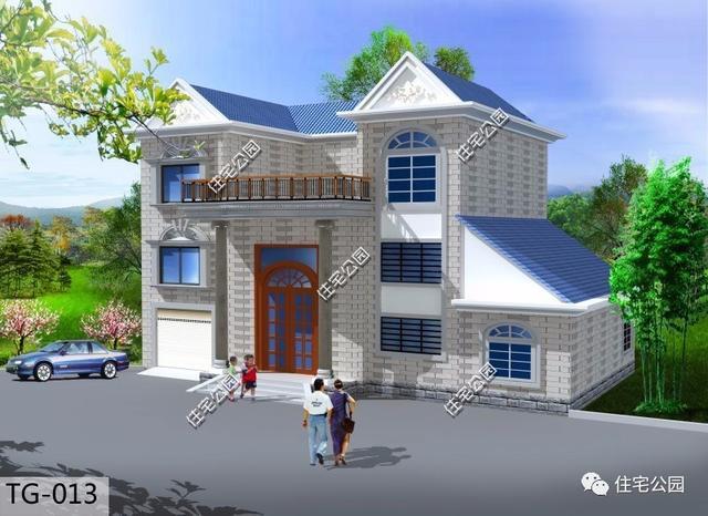我家现花园盖别墅,然后正在想采用合成树脂瓦别墅连排麦迪逊屋顶图片