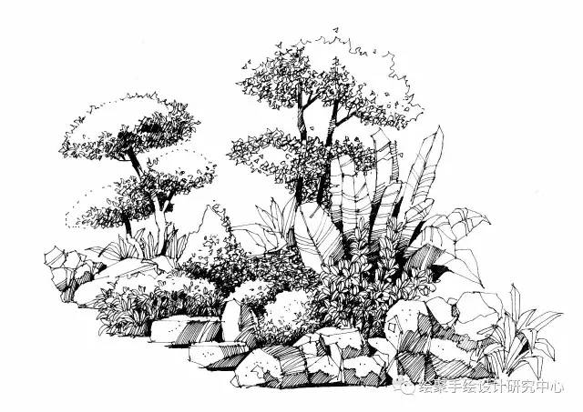 绘聚景观手绘作品