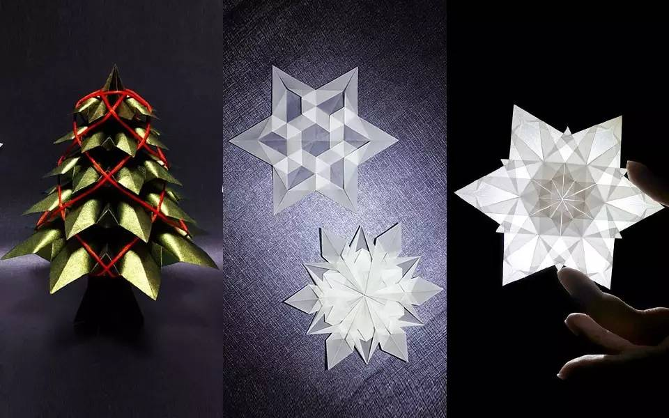手工折纸步骤花球图解