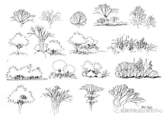 文化 正文  在景观效果图表现当中,植物的画法一直是学员比较头疼的一