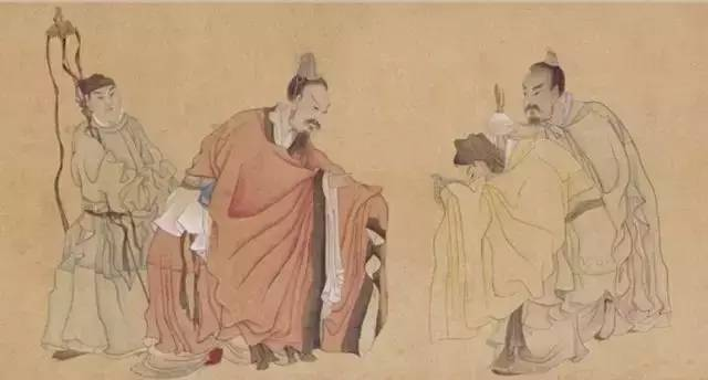 手绘动漫 礼仪旗袍女