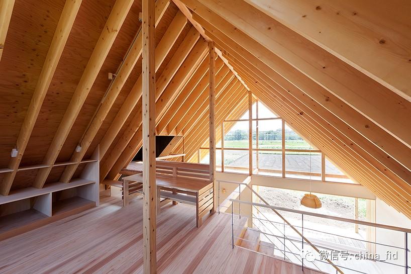 【设计空间】朝向回路开放的小木屋远程调压美景设计图图片