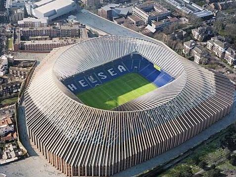 切尔西欲出售新主场冠名权 2023年才能投入使用