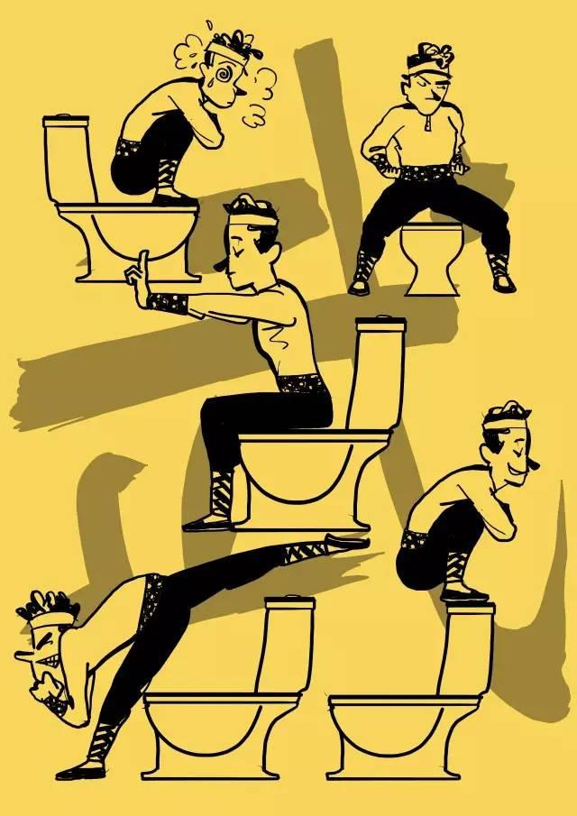 使用公厕马桶怎么更卫生?垫纸巾还是蹲上去?