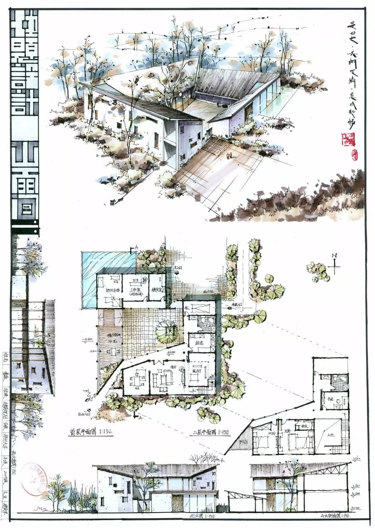 绘聚手绘—建筑基础提高班课程介绍