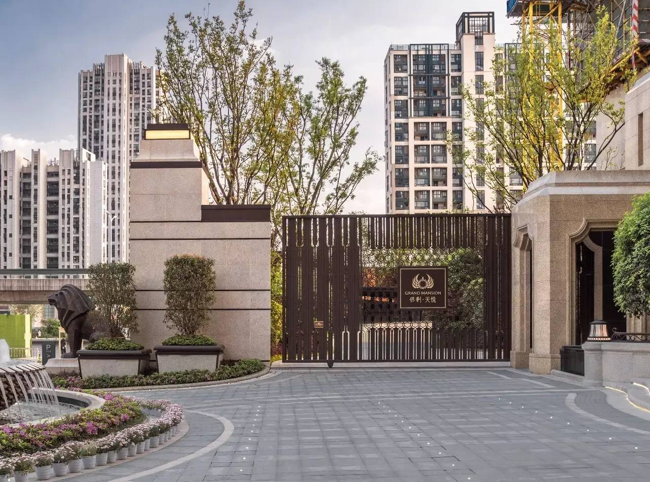 海景新古典该有的山庄丨南京保利天悦价格这是别墅气质图片
