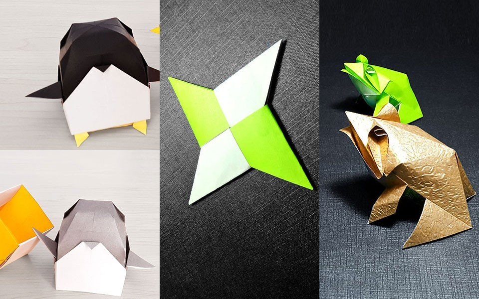 花球折纸步骤图解步骤
