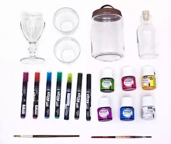 【diy手工】用完的玻璃瓶不要丢!5招diy让家里多件艺术品!