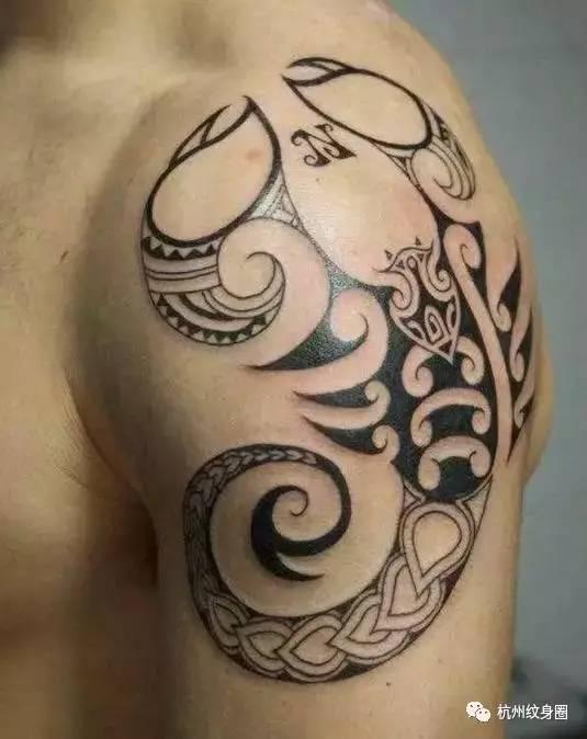 纹身素材:十二星座之天蝎射手座
