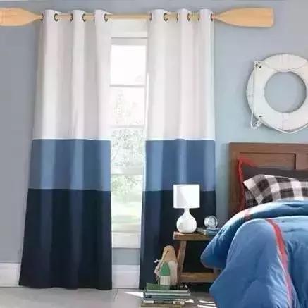 或者条纹窗帘比较多图片