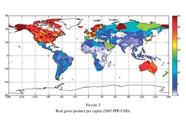 人均gdp分布图_中国人均gdp分布图