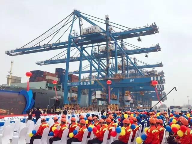科技 正文  青岛港是世界集装箱第七大港,拥有目前世界最大的码头和最