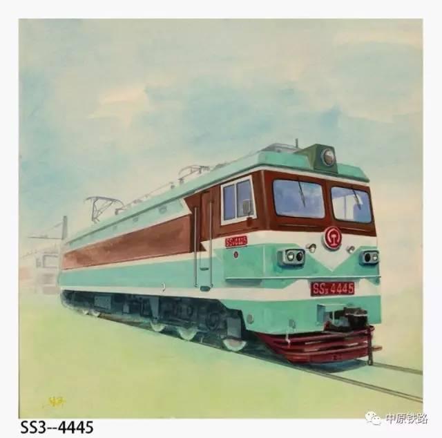 手绘火车头图集:老司机都认不全,你见过几种?
