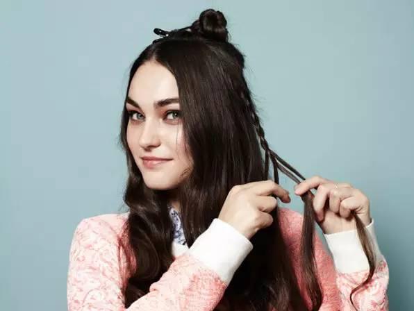 赵丽颖都爱这发型,今年最火半扎发