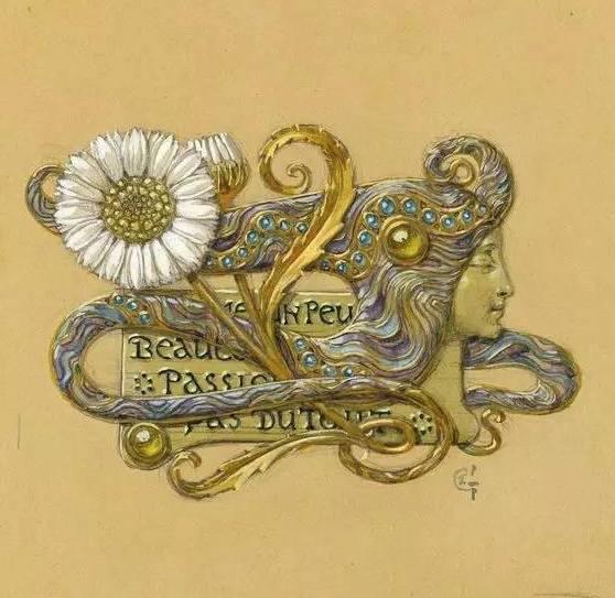珠宝手绘图高清图
