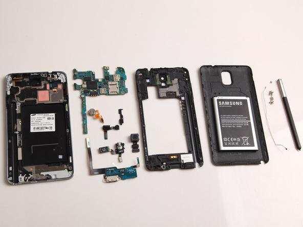 手机自助维修diy: 三星galaxy note3全拆机图解