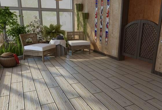 阳台木地板装修步骤