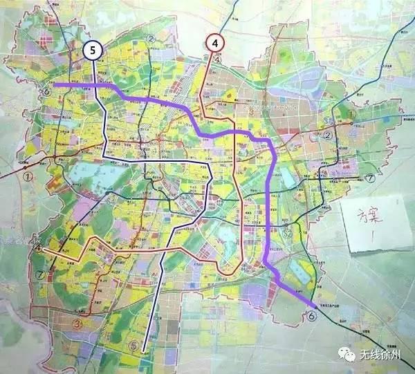重磅!徐州地铁6号线有官方消息啦——将下穿高铁站!