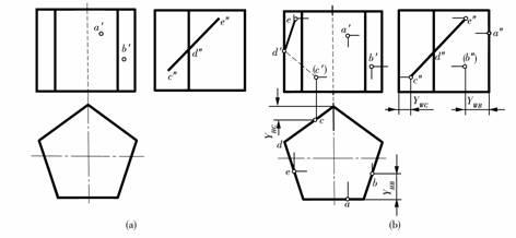 机械制图教程(2.5)几何体的投影图片