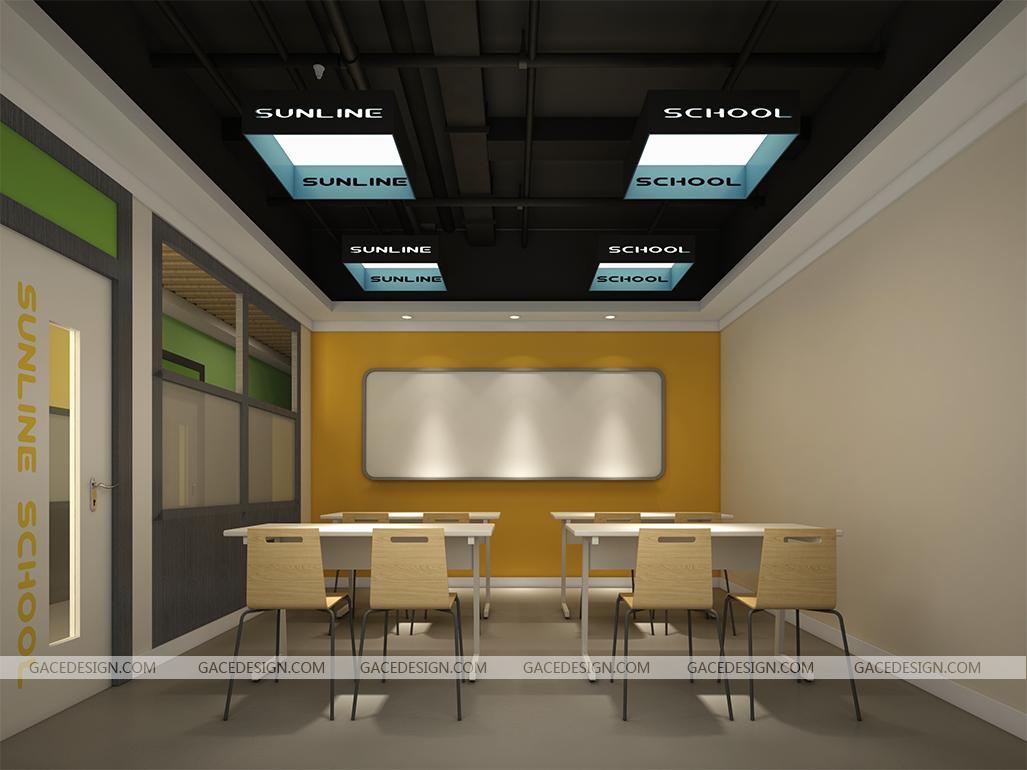 希来学园教育空间设计效果图