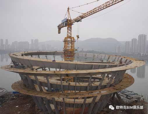 bim项目   攻破最大双螺旋钢结构难题,bim助力梅溪湖