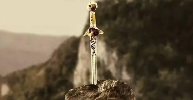 石中剑 the sword in the stone 石中剑是英国传说中的一把名剑,相传