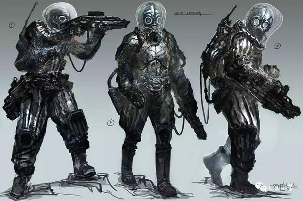 影视概念设计与游戏原画设计到底有啥不同?