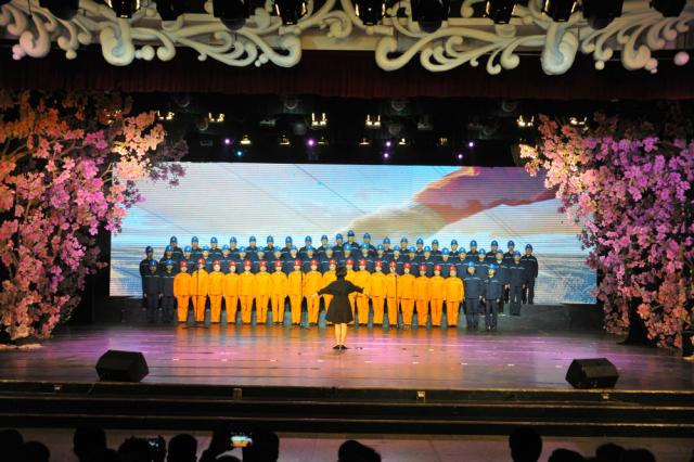大合唱《劳动托起中国梦》