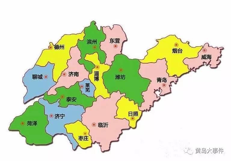山东省城市经济总量_山东省城市地图