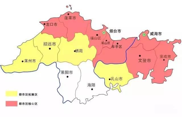 文登主城区规划图